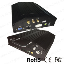 4 Kanal 720p HD Bus Mobile DVR mit 4G GPS WiFi
